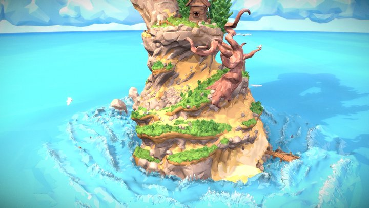 The Island 3D Model