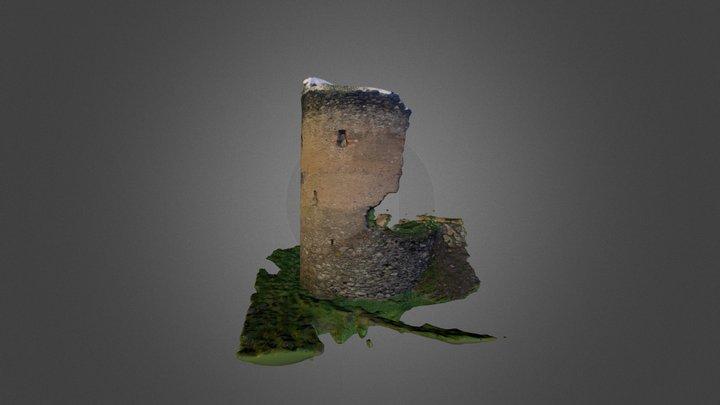 Castle Tower (Teplice - Czech Republic) 3D Model