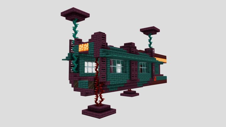 Updated Nether Tunnel 3D Model