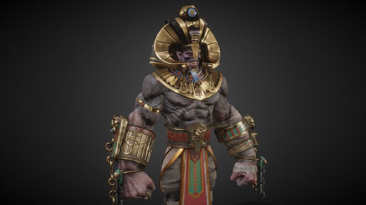 Raid Monster 3D Model