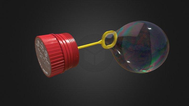 Soap Bubble Toy 3D Model