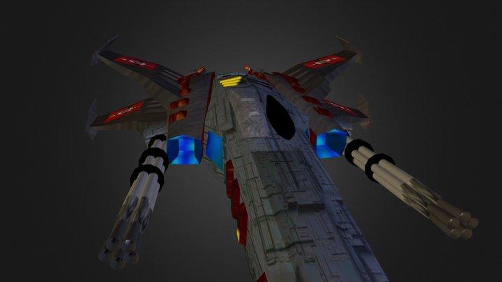 Spacefighter 3D Model