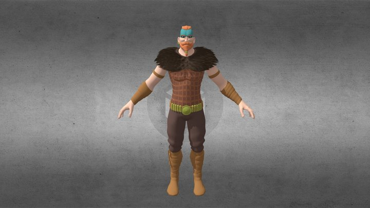 Taske - The protector 3D Model
