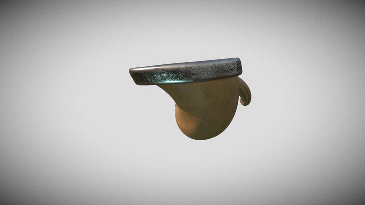 Shofar 3D Model