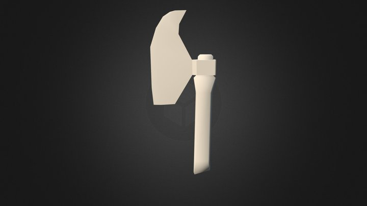 HATCHET SMALL 3D Model