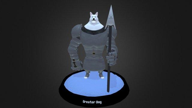 Greater Dog 3D Model