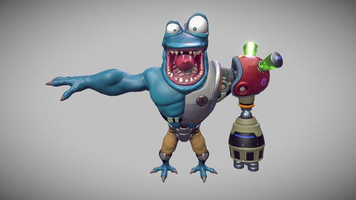 Zheros Enemy (Skin) 3D Model