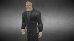 "Batman Beyond - ""Old"" Bruce Wayne 3D Model"