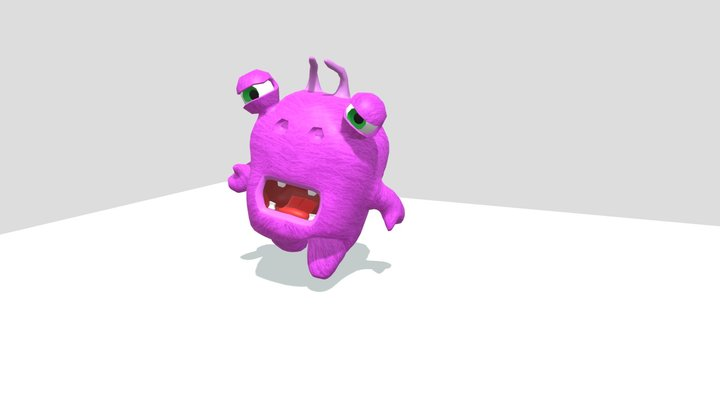 Tomi - walk cycle 3D Model