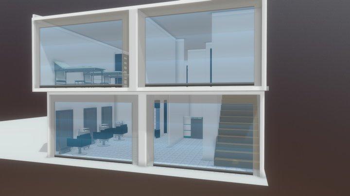 PLANTA 1 omkara spa 3D Model