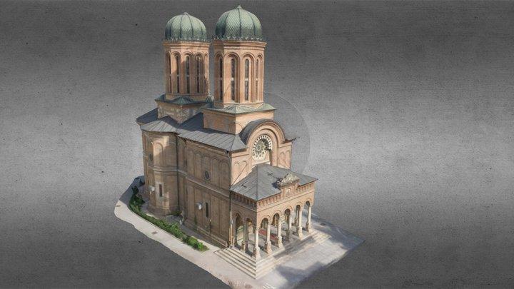 Antim Church from Bucharest-3D reconstruction 3D Model