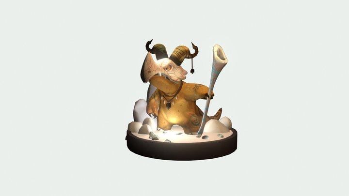 Piper's Marowak 3D Model