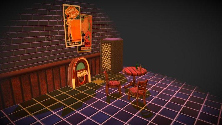 Bar prewiew 3D Model