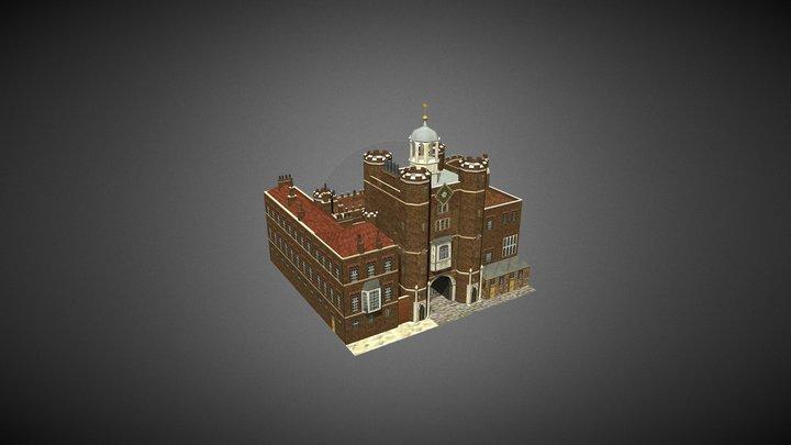 St James's Palace 3D Model