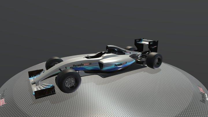 Mercedes Showcar - Formulaspeed 3D Model