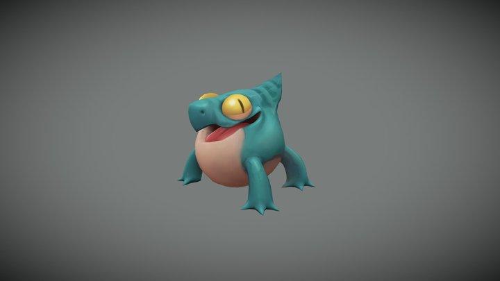 Critter 3D Model