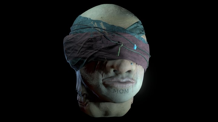 Pirate Head [Nautical Project] 3D Model