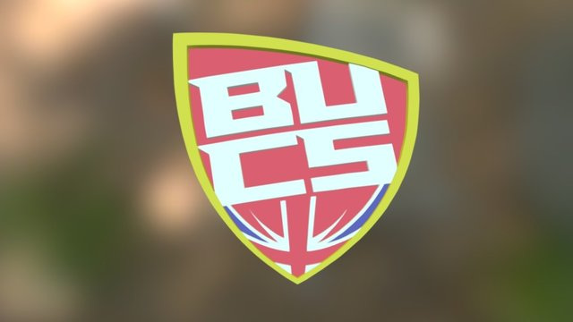 BUCS Logo 3D Model
