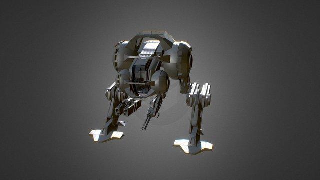 Avalanche concept 3D Model