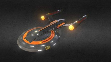 USS Frank-Lin 3D Model