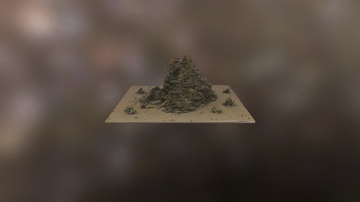 Dschafar's Hall 3D Model