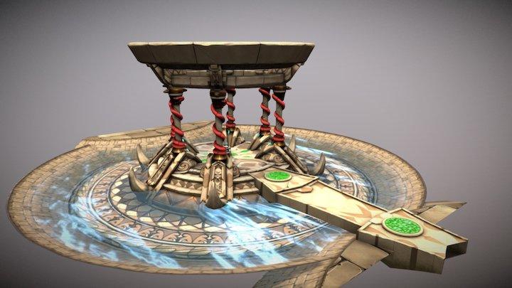 Legend of Darius - Central Area 3D Model