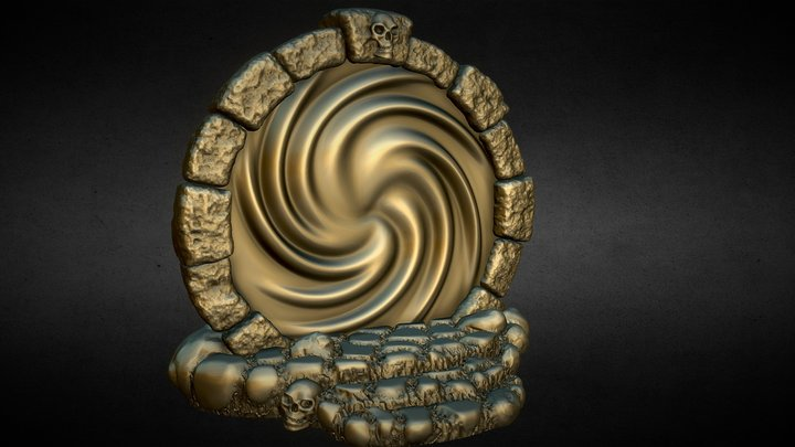 Nemoriko`s : Tabletop Portal 3D Model