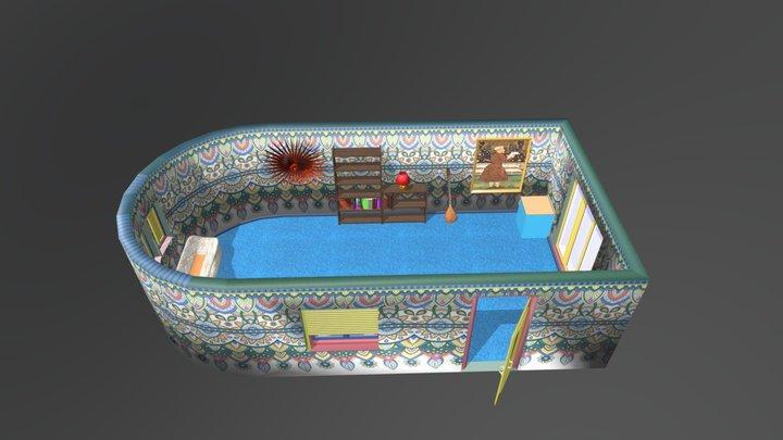 Indian Room 3D Model