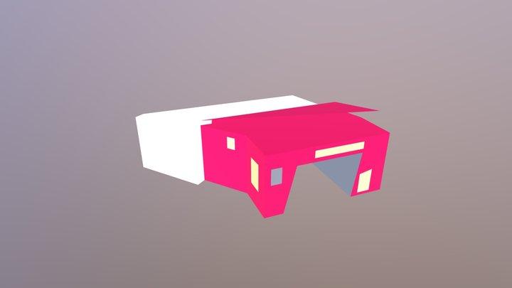 Adam Fire House 3D Model