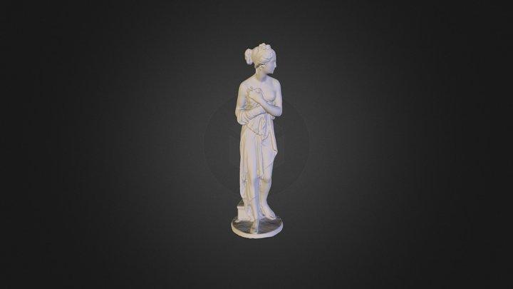Statue_metal 3D Model
