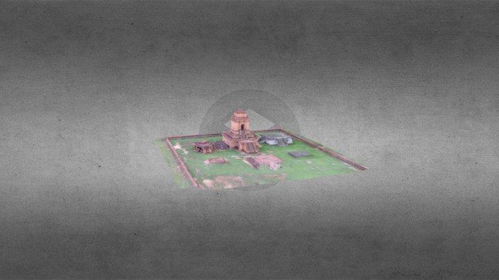 Candi Sitopayan 3D Model