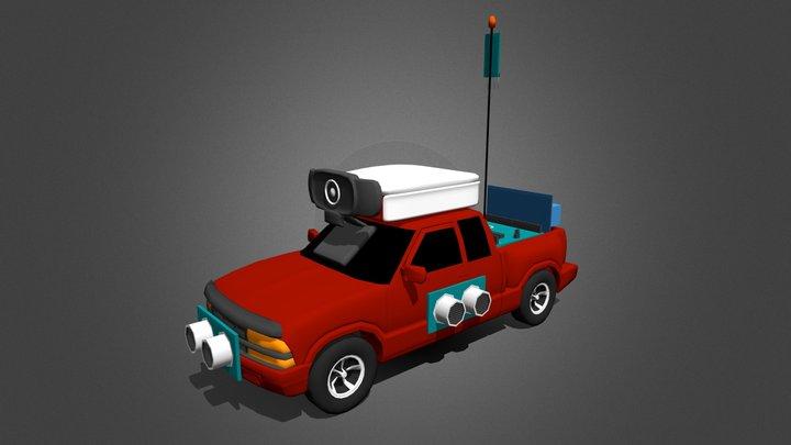 IoT Truck Project Model 3D Model