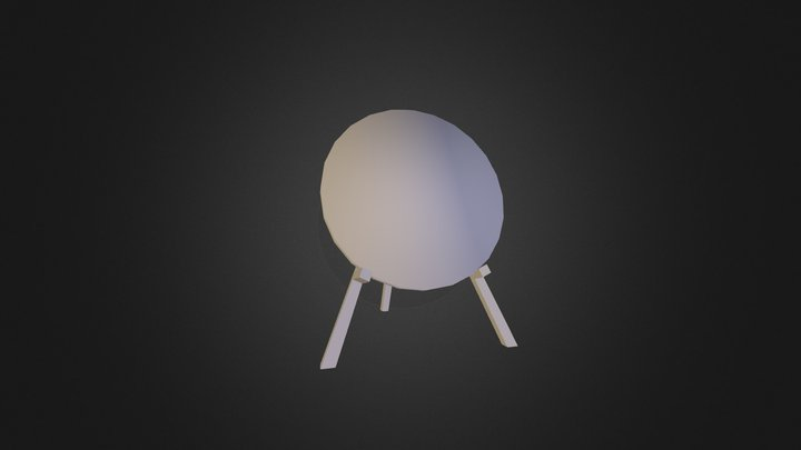 Archery_Target 3D Model