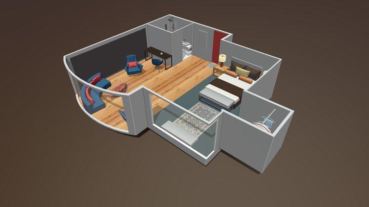 Dubai Suite King 3D Model