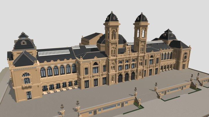 Ayuntamiento de San Sebastian, Guipuzcoa 3D Model