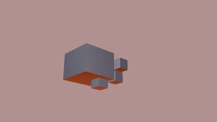 First Attempt 3D Model