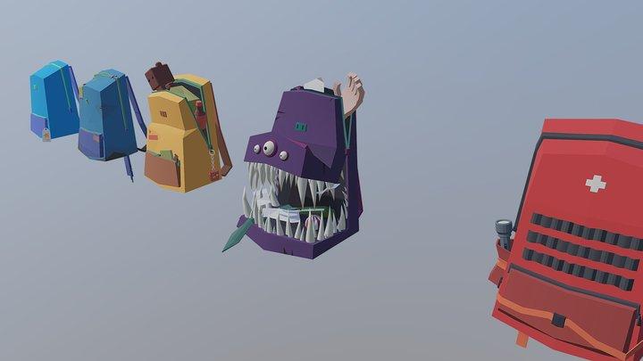 HW6 Backpack / re-upload 3D Model