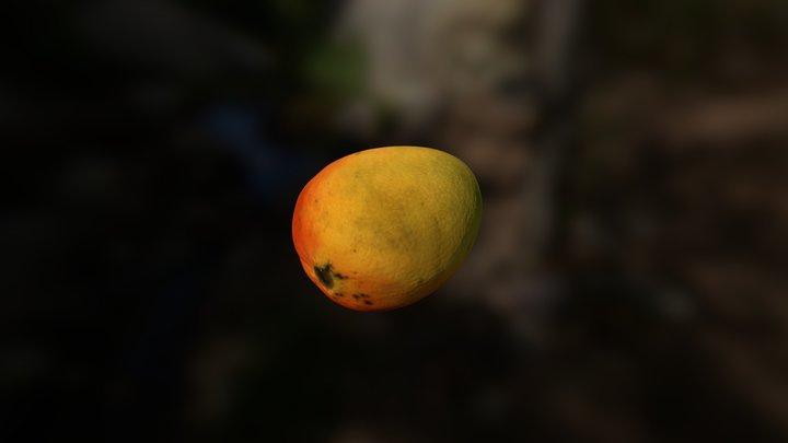 Mango, fruta local. 3D Model