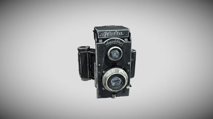 "Fotoaparatas ""Welta Superfekta"" 3D Model"
