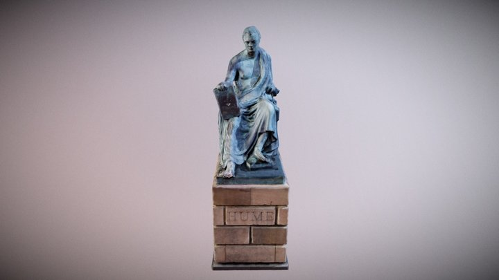 Hume from Royal Mile 3D Model