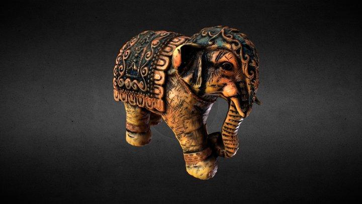 Elephant figure 3D Model