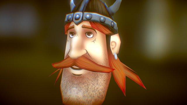 Vikinghead 3D Model