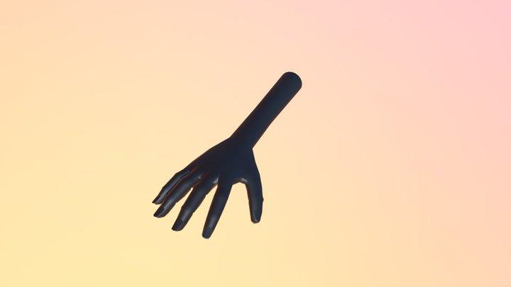 Mano 5 Dedos 3D Model