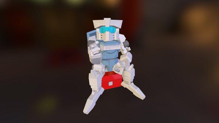 MiniBot: Disposal 3D Model