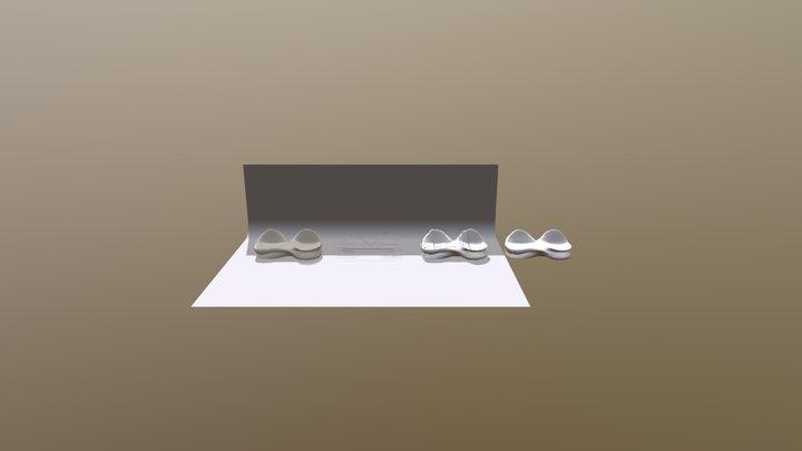 Parametric Bench Model 3D Model