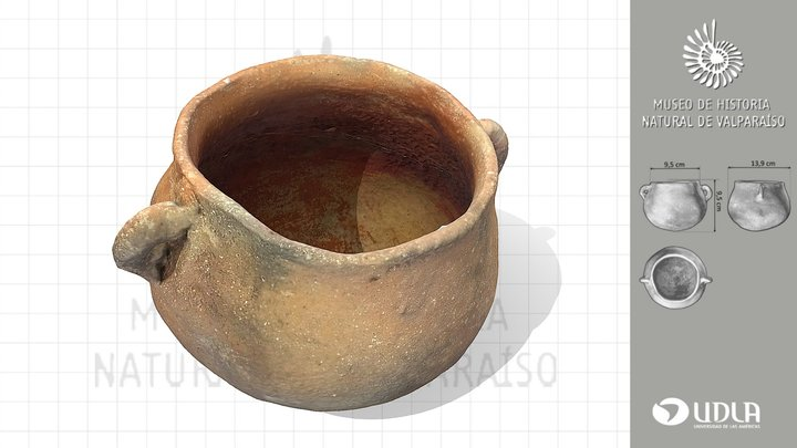 OLLA CERAMICA // Ceramic pot 3D Model