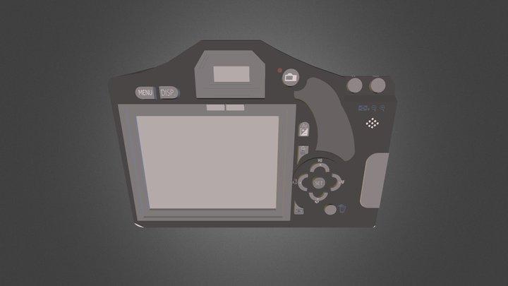 Sketch Back 3D Model