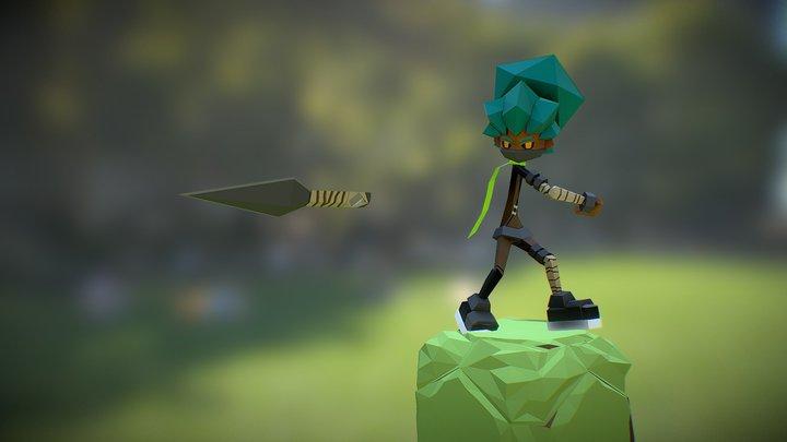 Urban Ninja 3D Model