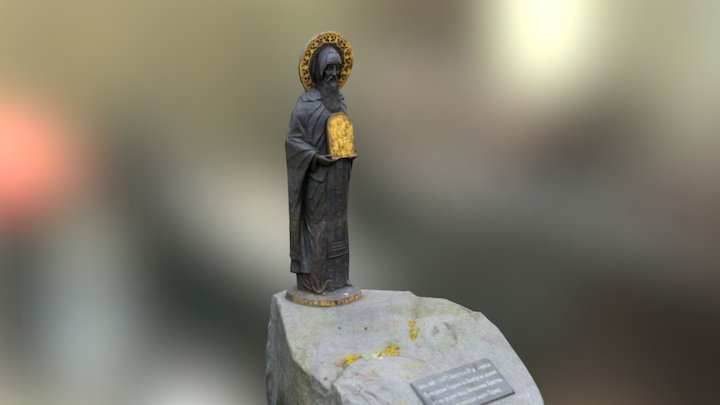 RAW 3d scanned ortodox monument 3D Model