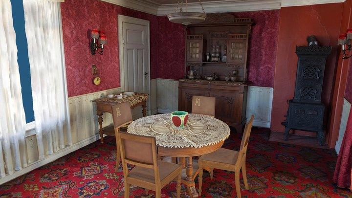Spisestuen/ Dining room - AR 3D Model